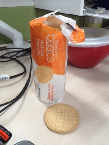 Emergency biscuits